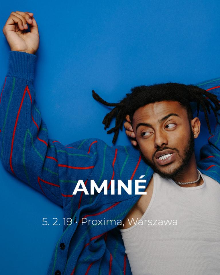 Aminé z koncertem w Polsce!