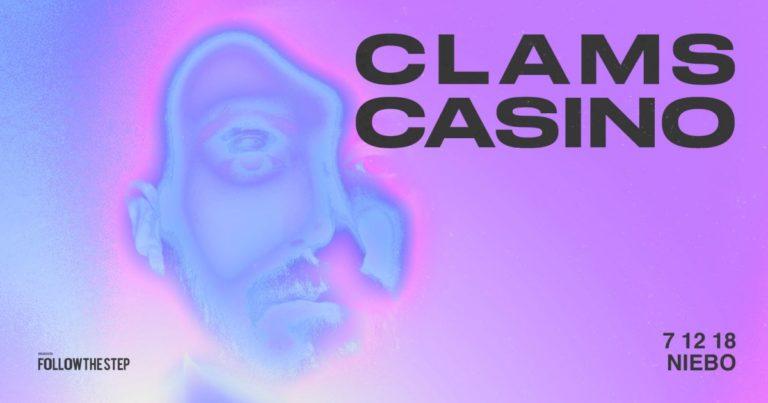 Clams Casino – przeniesione daty koncertów!
