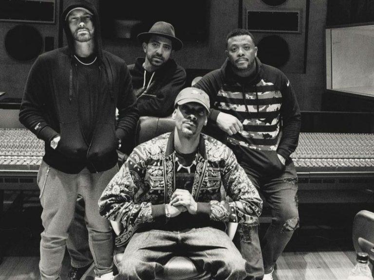 Eminem i Snoop Dogg razem w studio!