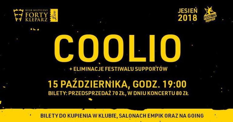 Coolio zagra w Polsce!