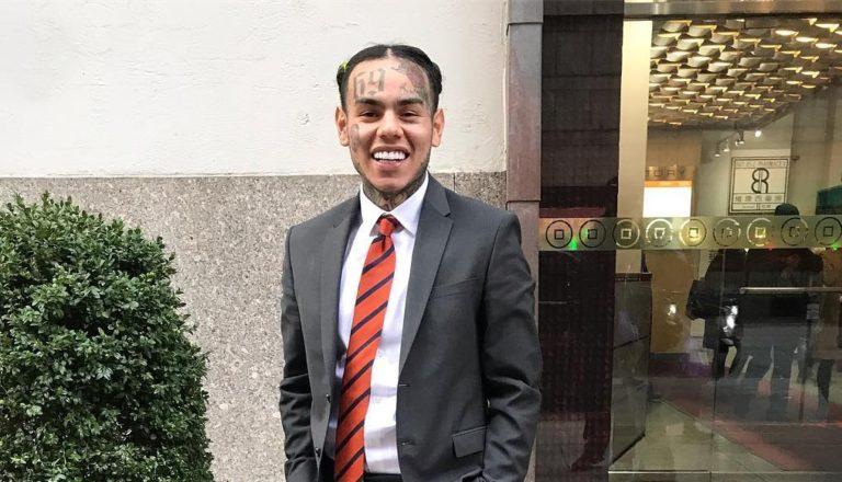 6ix9ine chce zapłacić 1,5 mln dolarów kaucji za swoją wolność