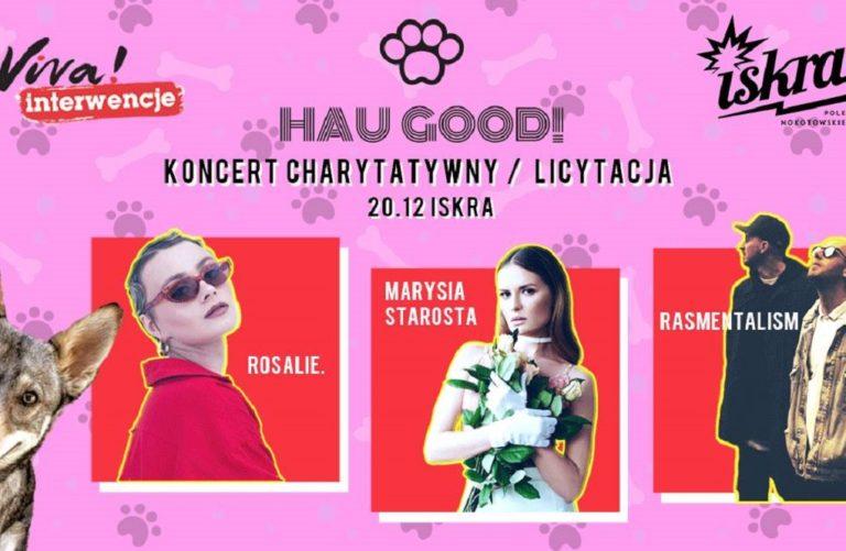 HAU GOOD! – charytatywny koncert dla zwierzaków już dzisiaj!