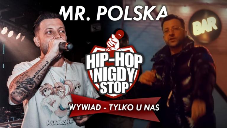 """Mr. Polska: """"Pierwszym raperem którego słuchałem był Peja"""""""
