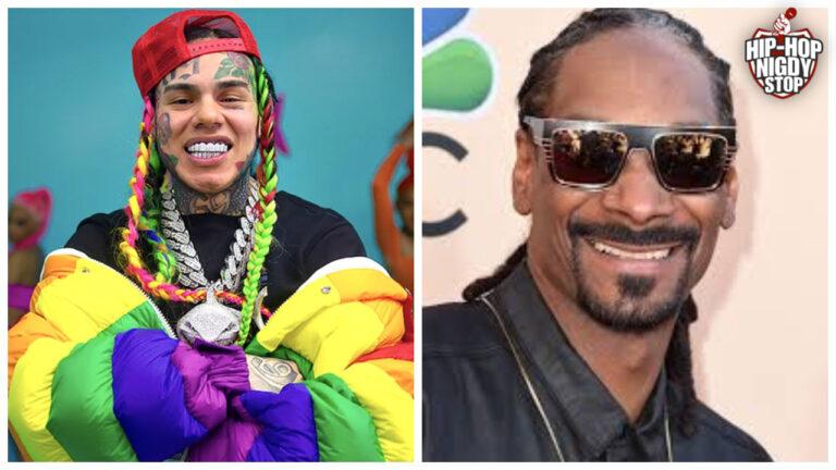 6ix9ine ujawnia przeszłość Snoop Dog'a?!