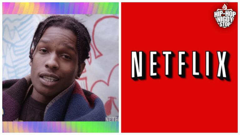 A$AP Rocky w nowej produkcji Netflixa!