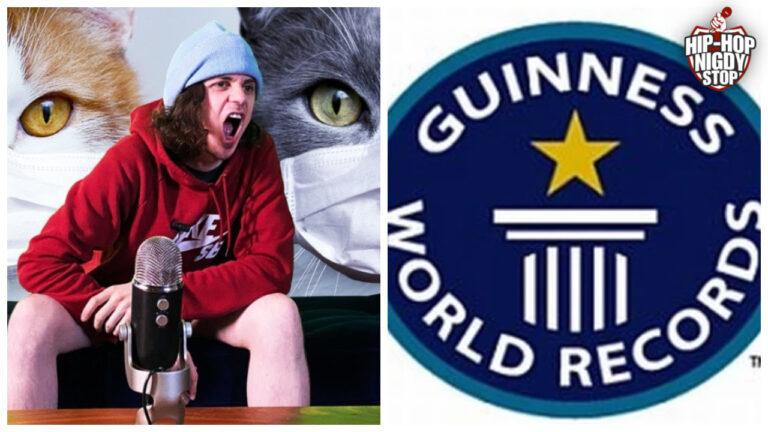 Raper ustanowił nowy rekord Guinnessa!