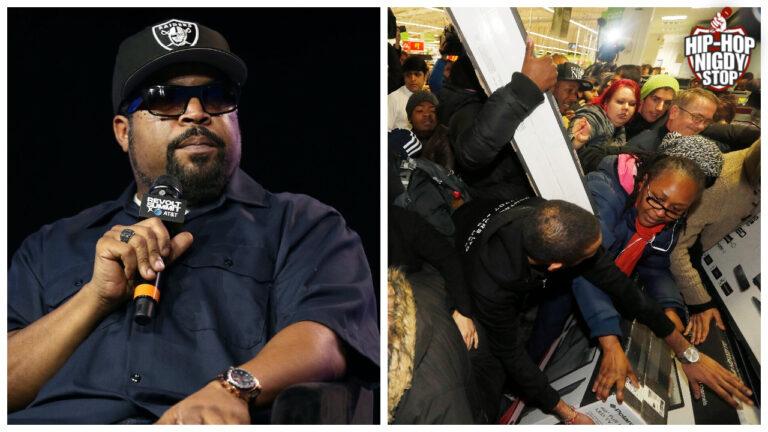 Ice Cube proponuje 100 tysięcy dolarów na pokrycie strat spowodowanymi kradzieżami w Walmarcie