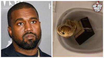 Kanye West… oddaje mocz na nagrodę Grammy i upublicznia kontrakty!