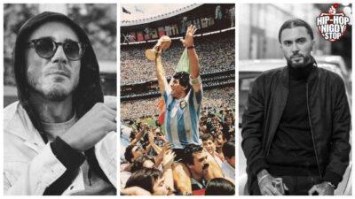 Raperzy żegnają Diego Maradonę