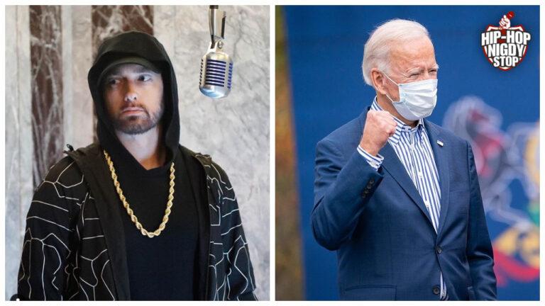 Spot wyborczy Joe Bidena z Eminemem w tle!