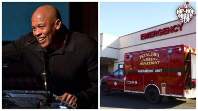 Dr. Dre trafił do szpitala!