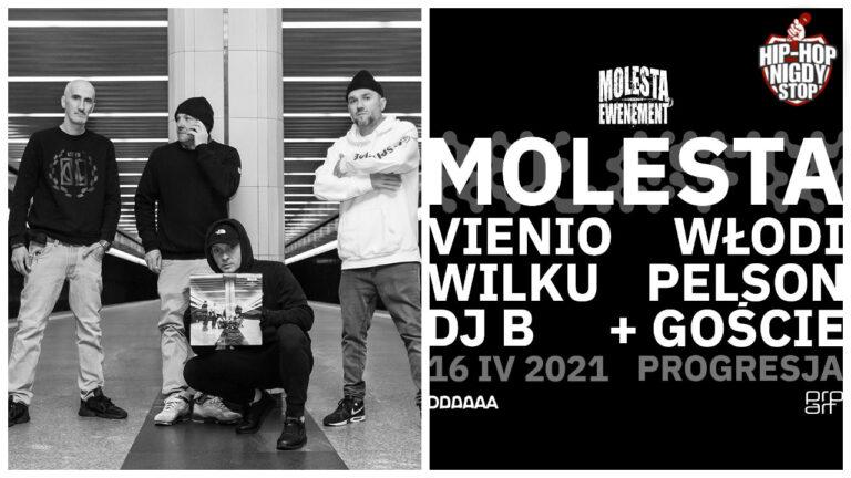 Jubileuszowy koncert Molesty już w kwietniu!