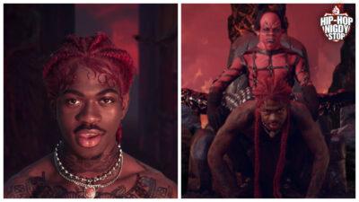 Lil Nas X promuje buty z ludzką krwią ku czci szatana