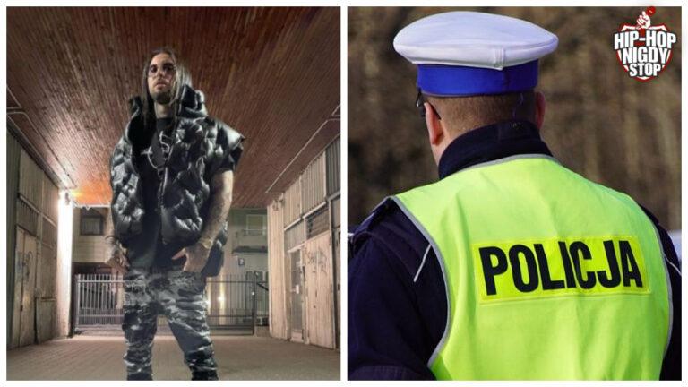 Policja zatrzymała Malika Montana [WIDEO]