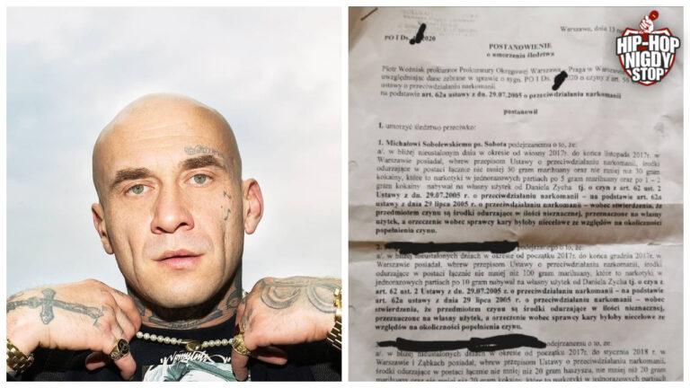 Czy to koniec afery z Sobotą? Raper publikuje dokumenty!