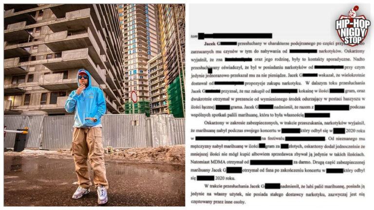 DJ Grubaz odpowiada Tedemu publikując jego zeznania!