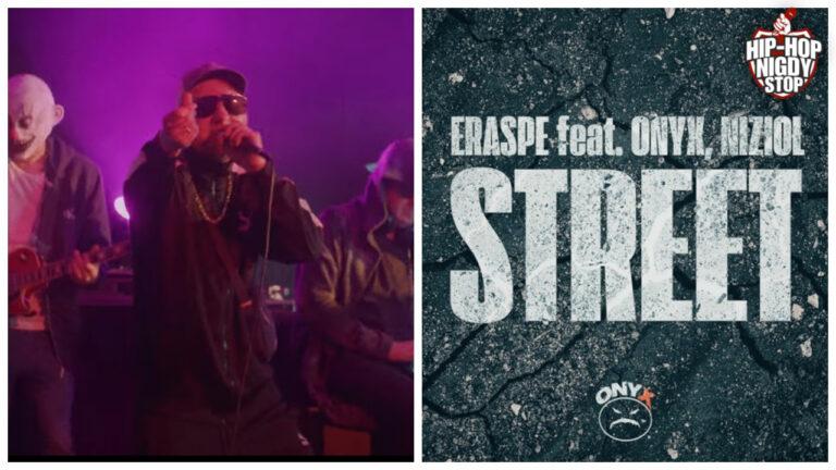"""Erapse przedstawia numer ,,Street"""" z gościnnym udziałem grupy ONYX oraz Nizioła!"""