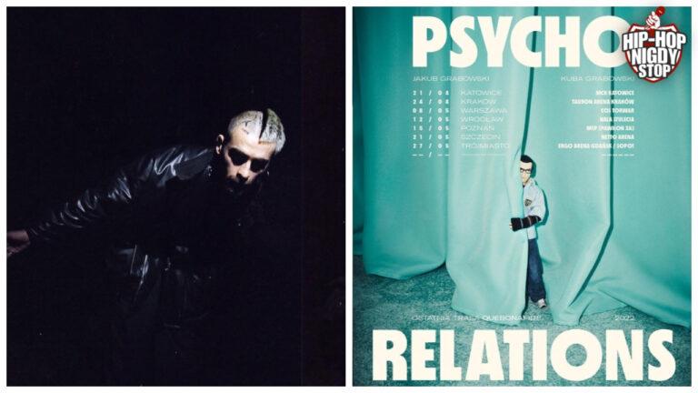 """Quebonafide rusza w ostatnią trasę koncertową. Startuje """"Psycho Relations""""!"""