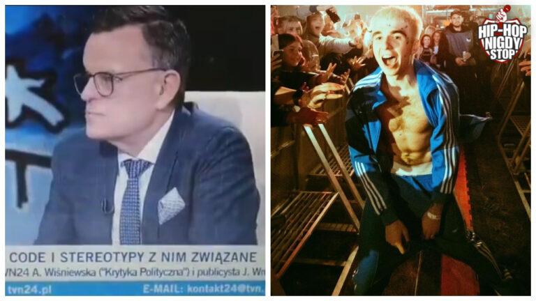 """Andrzej Mrozowski z TVN24: """"Mata zrobił karierę, bo używa wulgaryzmów"""""""